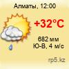 погода в г. Алматы